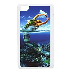 New Style Mermaid Image Phone Case For iPod Touch 4