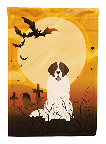 Caroline's Treasures BB4293CHF Halloween Moscow Watchdog Canvas House Size Flag, Large, Multicolor
