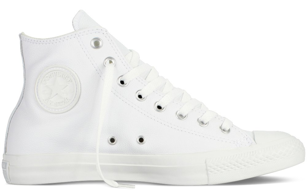 Converse Chuck Taylor All Star Hi, Zapatillas Unisex 46 EU|Blanco (White)