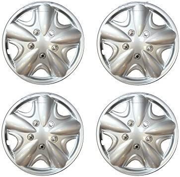 XtremeAuto© 14 pulgadas, plata, estilo Tapacubos, cubre para Vauxhall/Opel: Astra, Omega, frontera, Corsa, Cavalier Adam, Meriva, Mokka, Signum, Vectra, ...