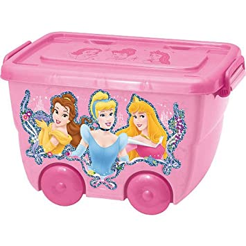 Good Disney Princess Storage Box In Pink