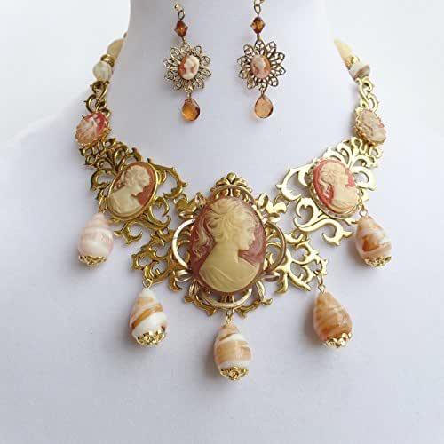 Amazon.com: Claire Kern Creations Vintage Cameos Gemstone