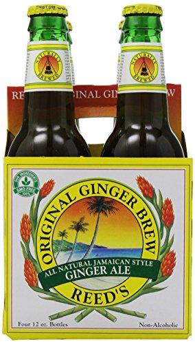 (Reed's, Original Ginger Brew Soda, 4-pack, 48 oz)