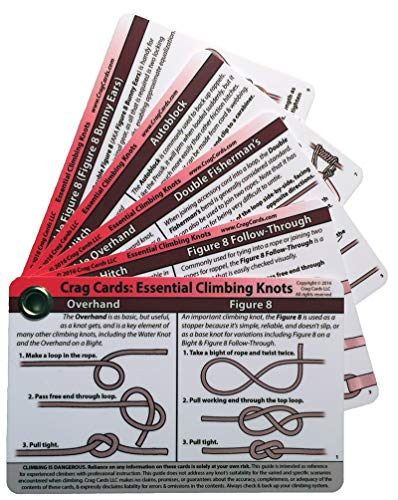 Crag Cards: Essential Climbing Knots from Crag Cards