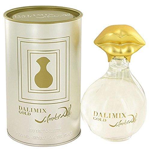 (Dalimix Gold by Salvador Dali Eau De Tiolette Spray 3.4 oz)