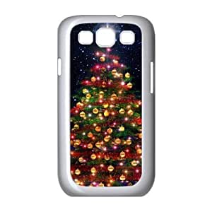 Christmas tree Personalized Cover Case with Hard Shell Protection for Samsung Galaxy S3 I9300 Case lxa#888165