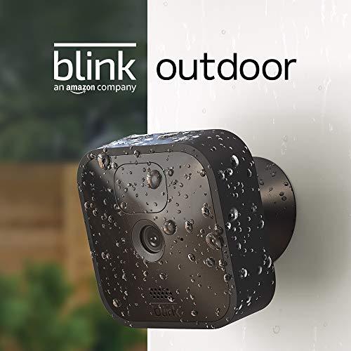 Blink Outdoor | Cámara de seguridad HD inalámbrica y resistente a la intemperie, con 2 años de autonomía, detección de…