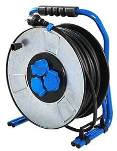 as - Schwabe 10725 Iron Coat - Tambor para cable alargador (230 V, 16 A)