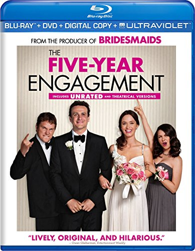 Blu-ray : The Five-Year Engagement (With DVD, Ultraviolet Digital Copy, Digital Copy, Widescreen, Dolby)