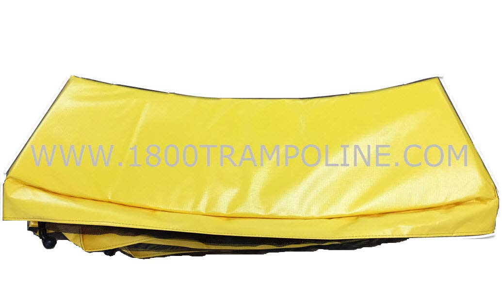 Family Store Network Yellow Made in USA 13' Round Deluxe Trampoline Frame Pad 12'' Wide