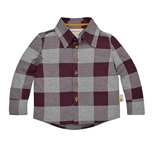 Burt's Bees Baby Baby Boys' Organic Button Down Shirt