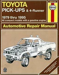 Toyota pickup 7995 haynes repair manuals haynes 0038345006562 toyota pick ups 4 runner 1979 95 automotive repair manual fandeluxe Choice Image