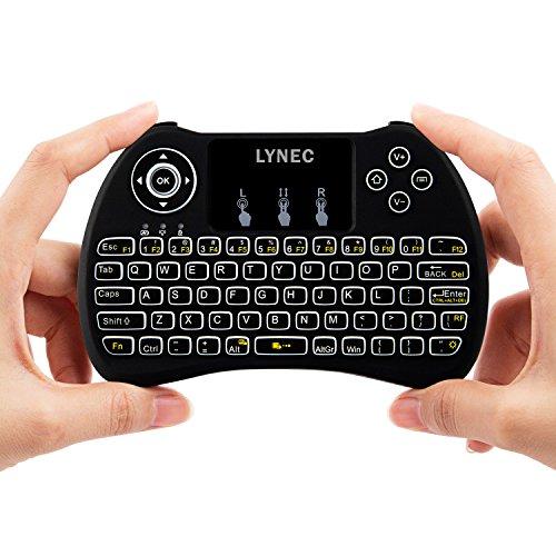 Lynec H9 2.4GHz Backlit Wireless Keyboard Mouse...