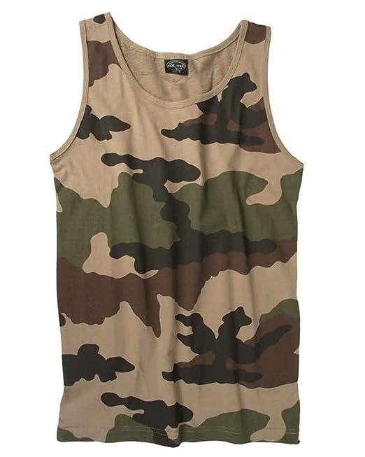 099f81972fd1f Mil-Tec Cotton Tank Top  Amazon.co.uk  Clothing