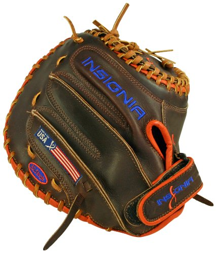 Insignia Awe FastPitch Catcher's Mitt with Closed Web (32.50-Inch) by Insignia Athletics