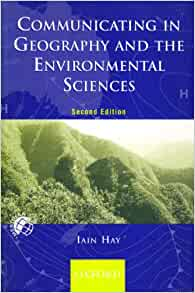 communicating in geography and the environmental sciences pdf