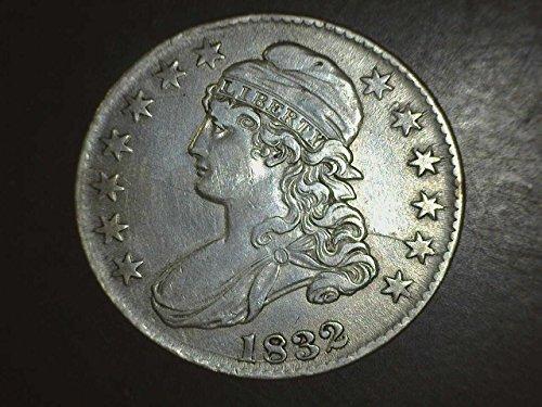 1832 Bust Half Dollar 50c VF/EF - 1832 Half Dollar