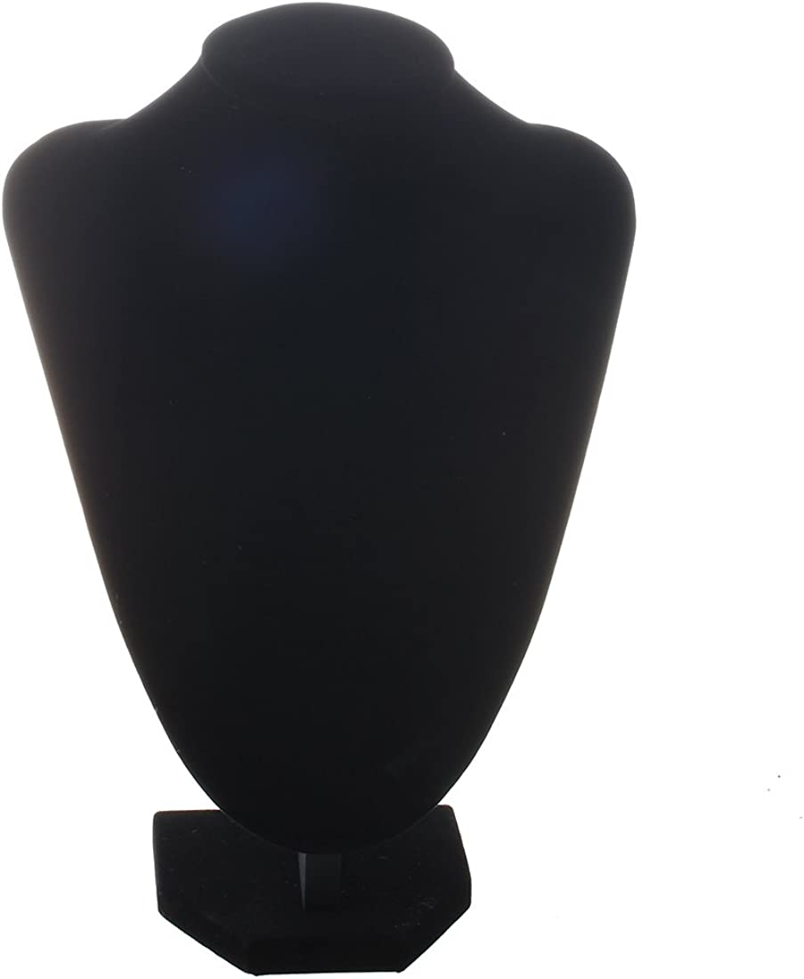 Black Necklace Earring Mannequin Hand Stand Jewellery Holder Shop Display