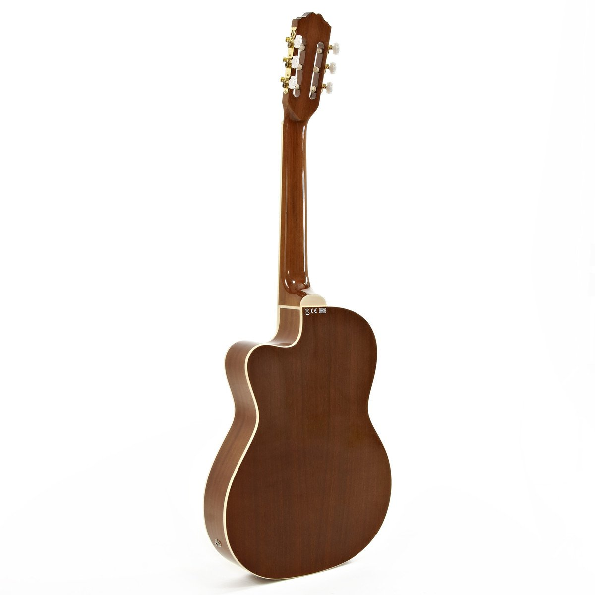 Paquete de Guitarra Clásica Electroacústica Thinline + Amplificador de 15W