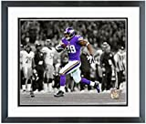 "Adrian Peterson Minnesota Vikings 2013 NFL Spotlight Action Photo (Size: 18"" x 22"") Framed"