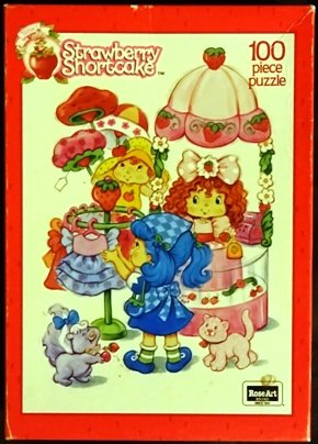 Vintage Strawberry Shortcake 100 Piece Jigsaw Puzzle