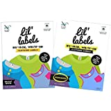 Lil' Labels Clothing Labels, No-Iron, Washer Safe