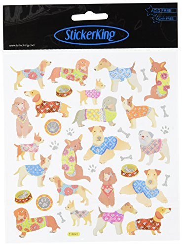 Tattoo King Multi Colored Stickers Dogs Sweaters product image