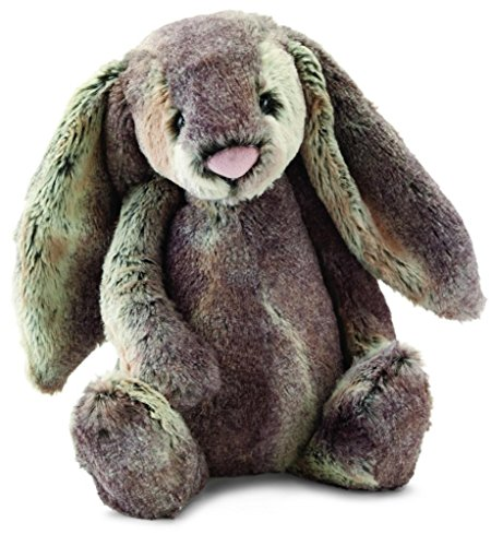 (Jellycat Bashful Woodland Bunny Stuffed Animal, Large, 15 inches)