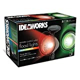 Ideaworks Colour Changing Remote Control Solar Fl