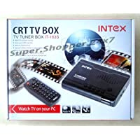 Intex IT 163S CRT TV Tuner Box with Remote IT-163S - 1 Year Warranty