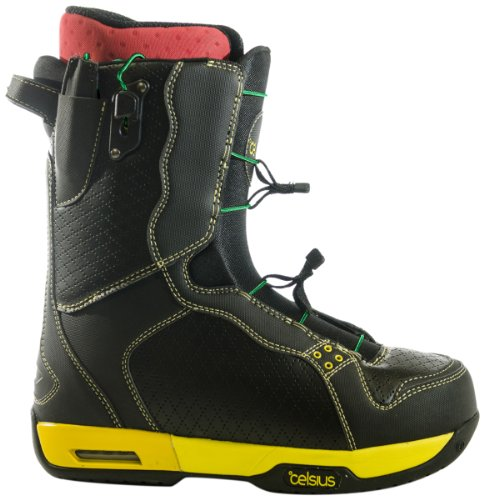 Celsius Men's Cirrus Snowboard Boots with O.Zone Speed Laces