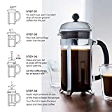 BODUM 1928-913 Chambord French Press, 34 Oz, White