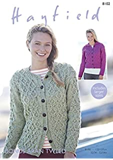 ee7be2637 Stylecraft Ladies Sweaters Alpaca Tweed Knitting Pattern 9211 DK ...
