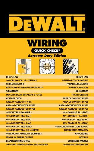 DEWALT Wiring Quick Check (DEWALT Series)