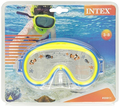 Aviator Swim Mask - Intex Mini Aviator Swim Mask (Colors May Vary) (2-Pack)