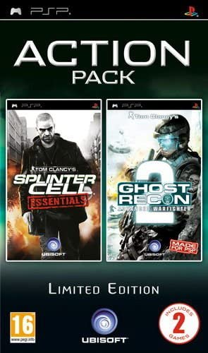 Ubisoft Action Pack: Splinter Cell & Ghost Recon Advanced Warfighter 2 - Juego (PlayStation Portable (PSP), Shooter, M (Maduro), ENG): Amazon.es: Videojuegos