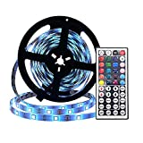 LED Strip Lights 5M 5050 SMD Waterproof 150LEDs RGB Color Changing Flexible LED Light Strip Kit