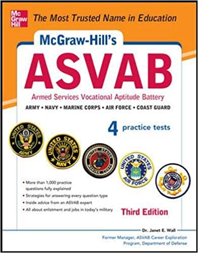 Amazon com: McGraw-Hill's ASVAB, 3rd Edition: Strategies + 4