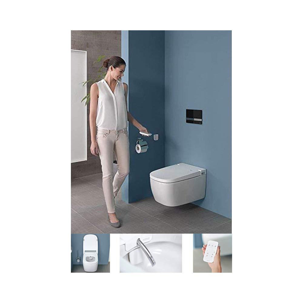Vitra V-Care Comfort 5674B403-6124 Flush-Mounted Shower Toilet with Taharet / Bidet