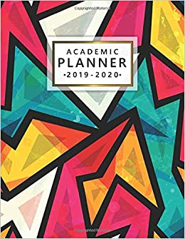 Amazon.com: Academic Planner 2019-2020: Pretty Daily Weekly ...
