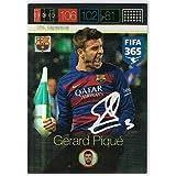 Panini Adrenalyn XL FIFA 365 Gerard Pique Signature Card
