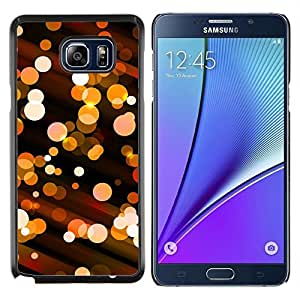 """Be-Star Único Patrón Plástico Duro Fundas Cover Cubre Hard Case Cover Para Samsung Galaxy Note5 / N920 ( Bling bola de discoteca luces City Night Street"""" )"""