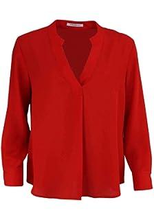 e9e14e42021d Betty Barclay Langarm Bluse V-Ausschnitt Doppel Knopfmanschette Ecru ...