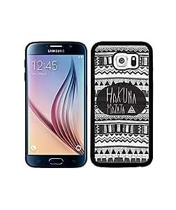 Clear Samsung Galaxy S6 Cartoon Phone Cover Soft Fundas Case for Man Girl Famous Samsung Galaxy S6 Cute Fundas Case(Black)