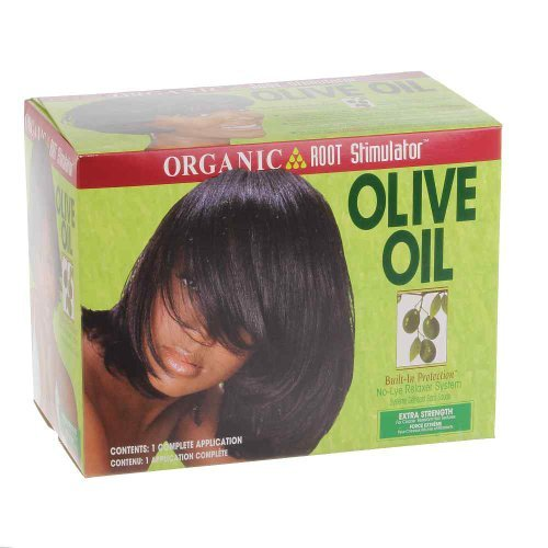 Organic Root Olive Oil No Lye Relaxer Kit, Extra Strength...