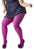 Plus Size Nylon/Lycra Tights - 20 Colors - 4 Sizes up to 375 lbs!
