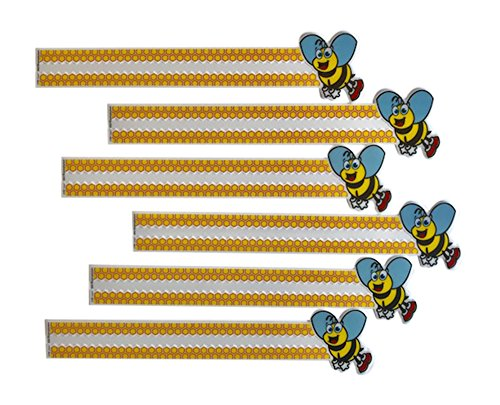 Reading Guide Strips for Kids Fun Honey Bee - Help Bees The