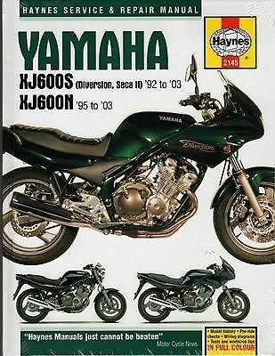 1995-2003 HAYNES YAMAHA XJ600S & XJ600N SERVICE REPAIR MANUAL (2145)