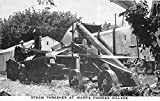 Steam Thresher at Warps' Pioneer Village Minden, Nebraska, NE, USA Postcard Post Card