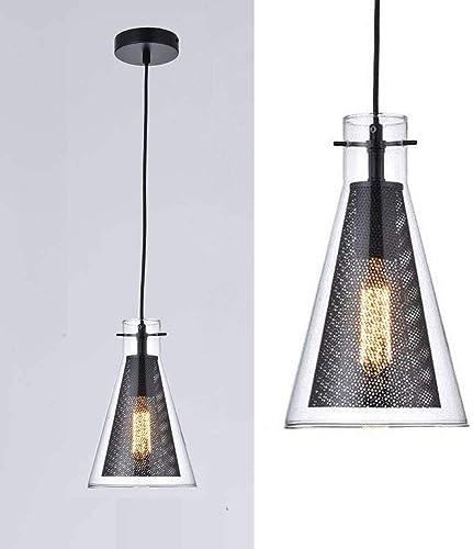 Berliget Indoor Industrial Glass Pendant Lighting